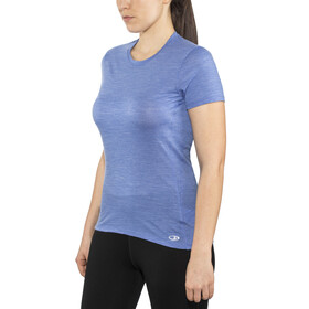 Icebreaker Amplify SS Low Crewe Shirt Women cove heather